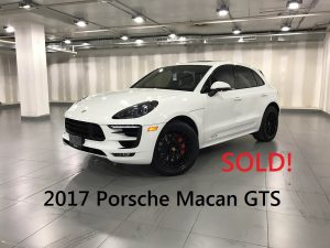 Macan GTS sold