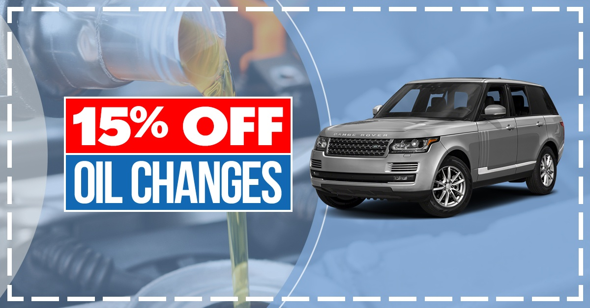 15% Off Oil Change