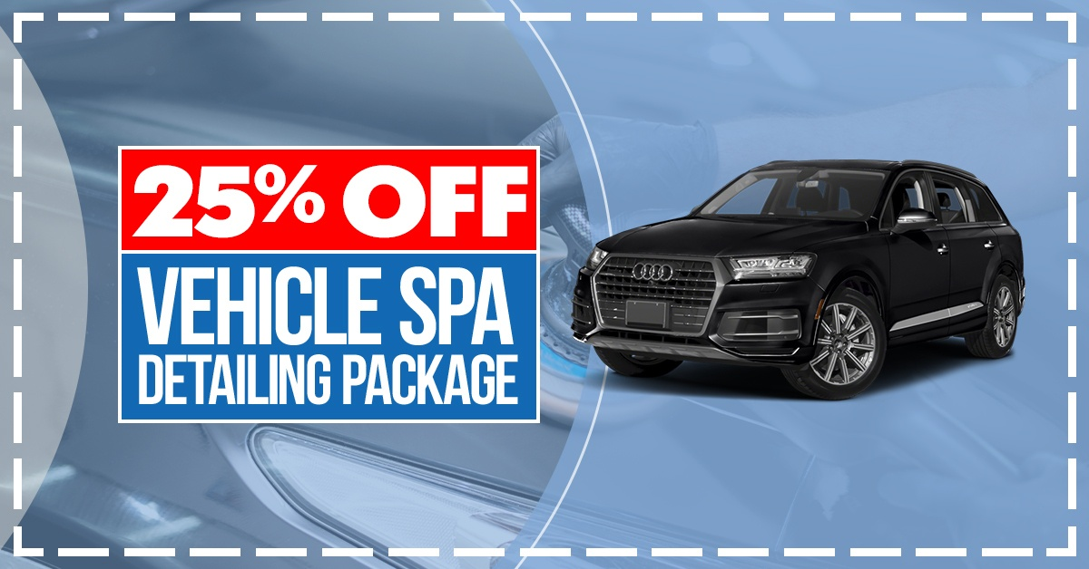 25% Off Vehicle Spa