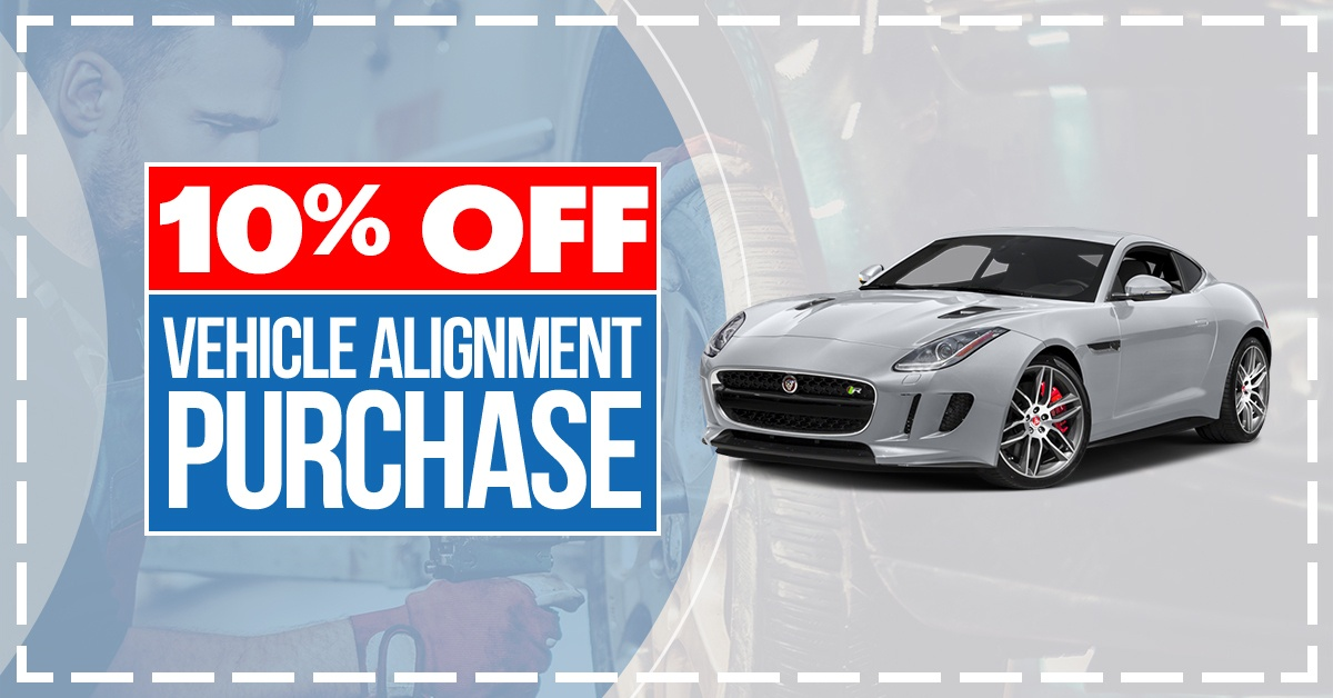 10% Off Vehicle Alignment Purchase
