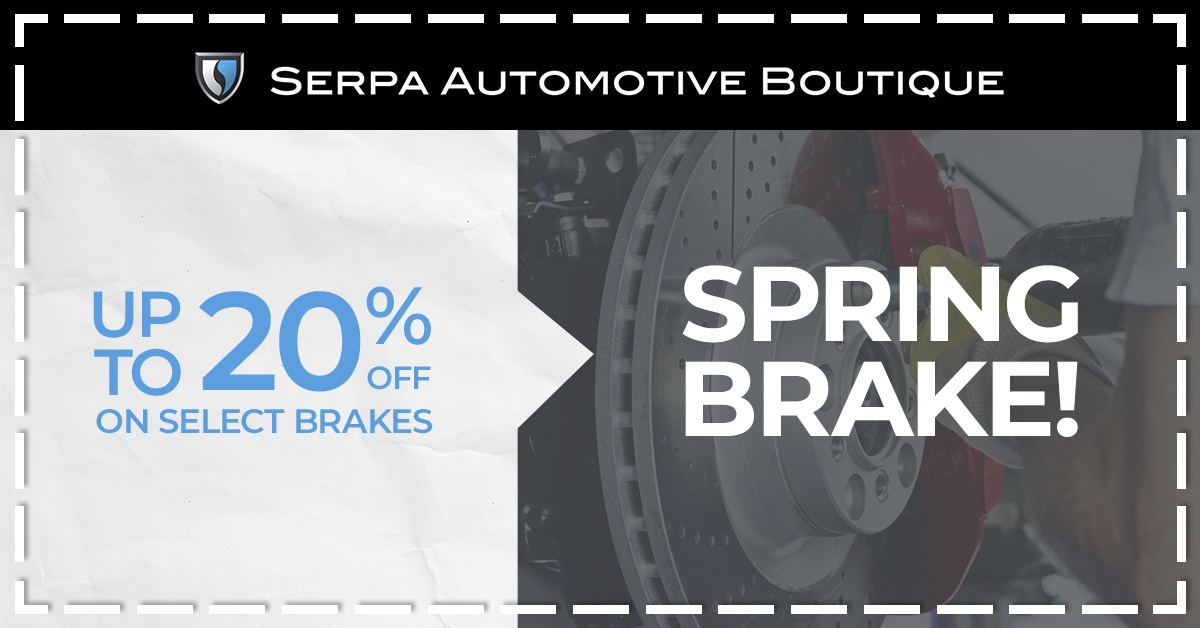 Spring Brake! up to 20% off on select brakes